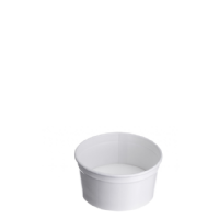 Type 80 Ice Cream Waxed Cup 90ml - Plain white